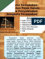 Dualisme Kedudukan Pengadilan Pajak Dalam Rangka Menyelesaikan Sengketa Pajak
