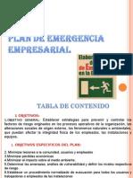 Plan de Emergencia Empresarial