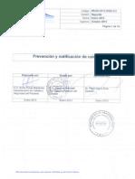 Protocolo de Prevención y Notificación de Caídas en Paciente Hospitalizado. HHHA 2013