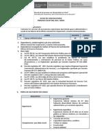 Proceso CAS N°001-2015-MIDIS