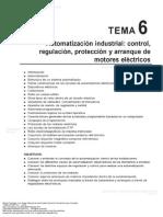Manual de Electricidad Industrial Formaci n Para El Empleo TEMA 6 AUTOMATIZACI N INDUSTRIAL CONTROL