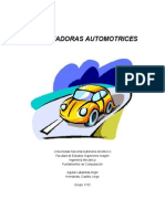 Computadoras Automotrices - Google Docs