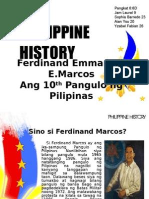 Ang pilipinas ng sino pangulo Talaan ng