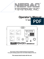 Ramp Power 232 _ Operator's Manual - E Option Control Panels _ Part Nº OA7605 _ Jun 2003 _ GENERAC.pdf
