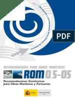 Recomendaciones Geotecnicas ROM 05-05 Cap 1,2 y 3 (2005)
