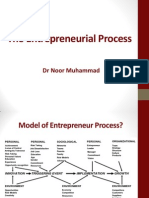 Lecture 6 - The Entrepreneurial Process
