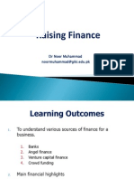 Lecture 11 - Raising Finance