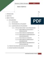 121896641 Catalizadores y Catalisis Heterogenea Docx