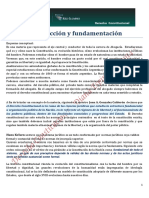 Derecho Constitucional Argentino Completo