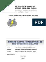 INFORME Machupicchu 2da Fase