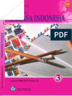 SMP Kelas 9 - Pelajaran Bahasa Indonesia