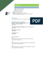 CV Claudia SC 2015