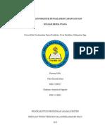 Laporan Kuliah Kerja Nyata STT Palu Angkatan IX 2015