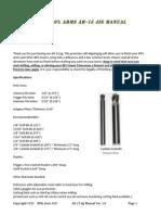 Jig Manual 80 Percent Arms