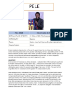 Football Players Biography