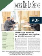 Edition du 15 juillet 2010
