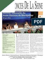 Edition du 28 juin 2010