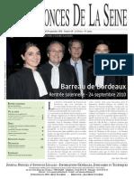Edition du 30 septembre 2010