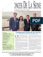 Edition du Jeudi 25 Septembre 2014