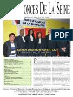 Edition du Lundi 28 Avril 2014