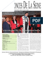 Edition du Lundi 6 Mars 2014