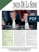 Edition du jeudi 11 avril 2013