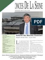 Edition du jeudi 13 juin 2013