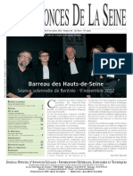 Edition du jeudi 15 novembre 2012