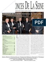 Edition du jeudi 19 avril 2012