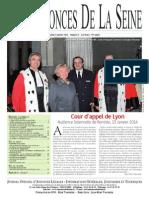 Edition du jeudi 23 janvier 2014