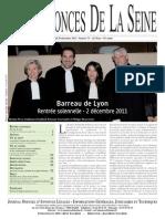 Edition du jeudi 29 decembre 2011