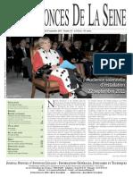 Edition du jeudi 29 septembre 2011