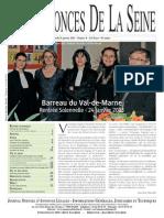 Edition du jeudi 31 janvier 2013
