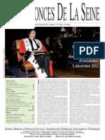 Edition du jeudi 5 janvier 2012