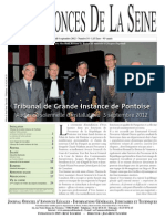 Edition du jeudi 6 septembre 2012