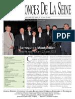Edition du lundi 2 juillet 2012