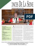 Edition du lundi 20 janvier 2014