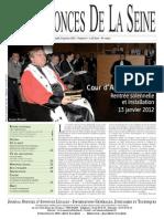 Edition du lundi 23 janvier 2012