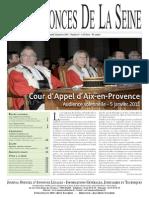 Edition du lundi 24 janvier 2011