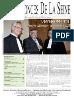 Edition du lundi 29 novembre 2010
