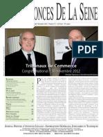 Edition du lundi 3 decembre 2012