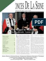 Edition du lundi 9 janvier 2012