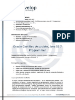 Temario Java Programmer I SE7Fundamentals