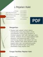 Fasilitas Pejalan Kaki