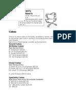 kristens folder menu