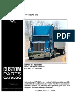 Manual de Partes de International 5600i | Icon (Computing