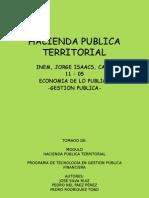 Hacienda Publica Territorial