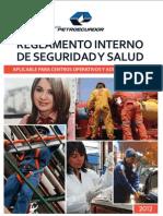 Reglamento Interno de Seguridad y Salud - Petroecuador