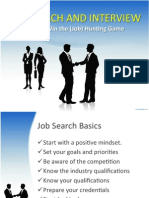 job search and interview anymeeting