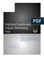 highland marketing plan